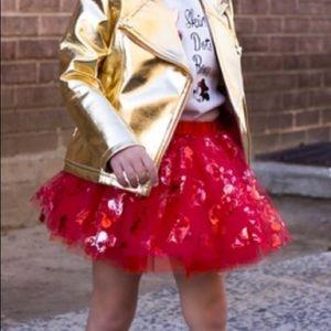 Disney couture red tutu sz 3t